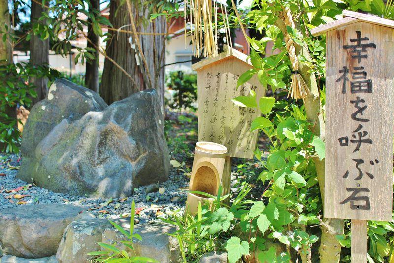 滋賀「伊豆神社」の幸福を呼ぶ石!ハートにタッチで縁結び