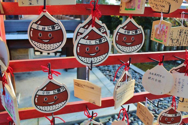 京都「乃木神社」で勝ちま栗で幸せに成り鯛!ダジャレもご利益も満載