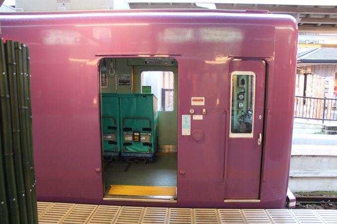 謎の電車に乗り込むのは荷物だけ・・・?