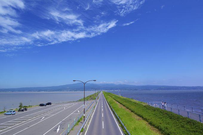 諫早湾を貫く一本の道