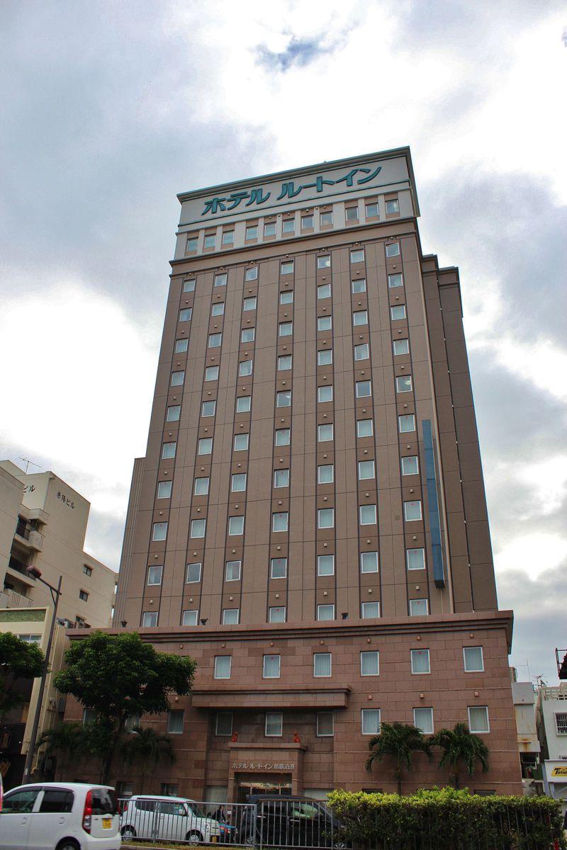 「ホテルルートイン那覇泊港」ビジホでも沖縄気分を味わいたい!
