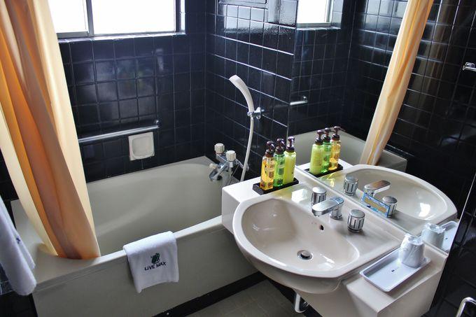 ゆったりバスルームの「ホテルリブマックス那覇泊港」