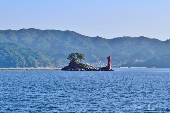 大槌湾に浮かぶその島・・・?