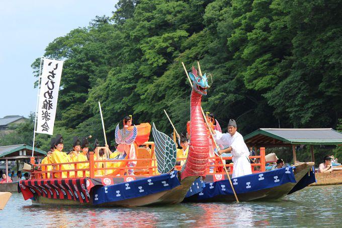 「三船祭」で平安貴族の気分に浸ろう!