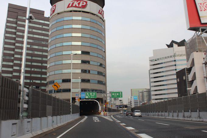 高速道路から見る「TKPゲートタワービル」は?