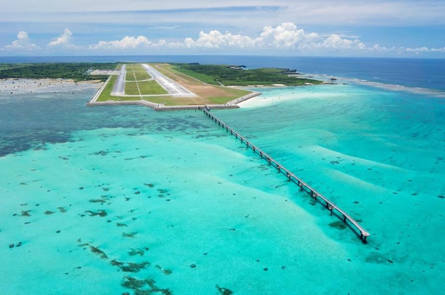 下地島空港開業とともに17エンドのアクセスが変化