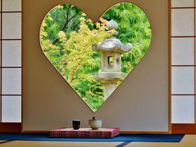 京都「正寿院」の幸せを呼ぶハートの窓に女子殺到!