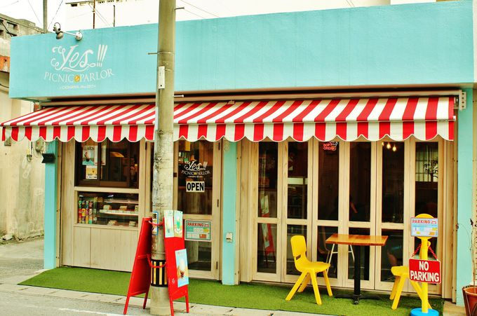 那覇市「Yes!!!PICNIC PARLOR」