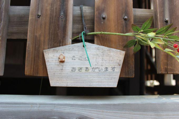 「幸神社」の謎のお猿さんの存在