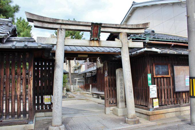 住宅街にある小さな神社「幸神社」