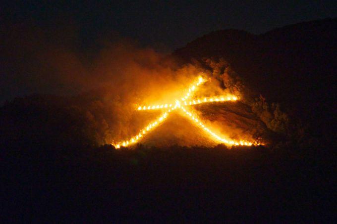 京都の夏の風物詩・大文字「五山の送り火」