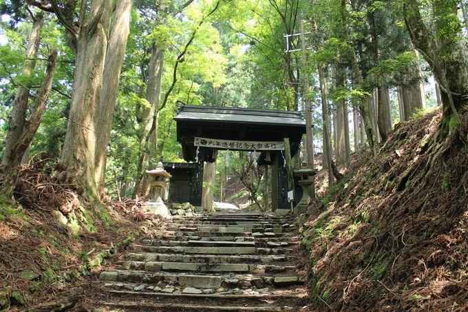 神域は神々しい雰囲気が漂う愛宕神社