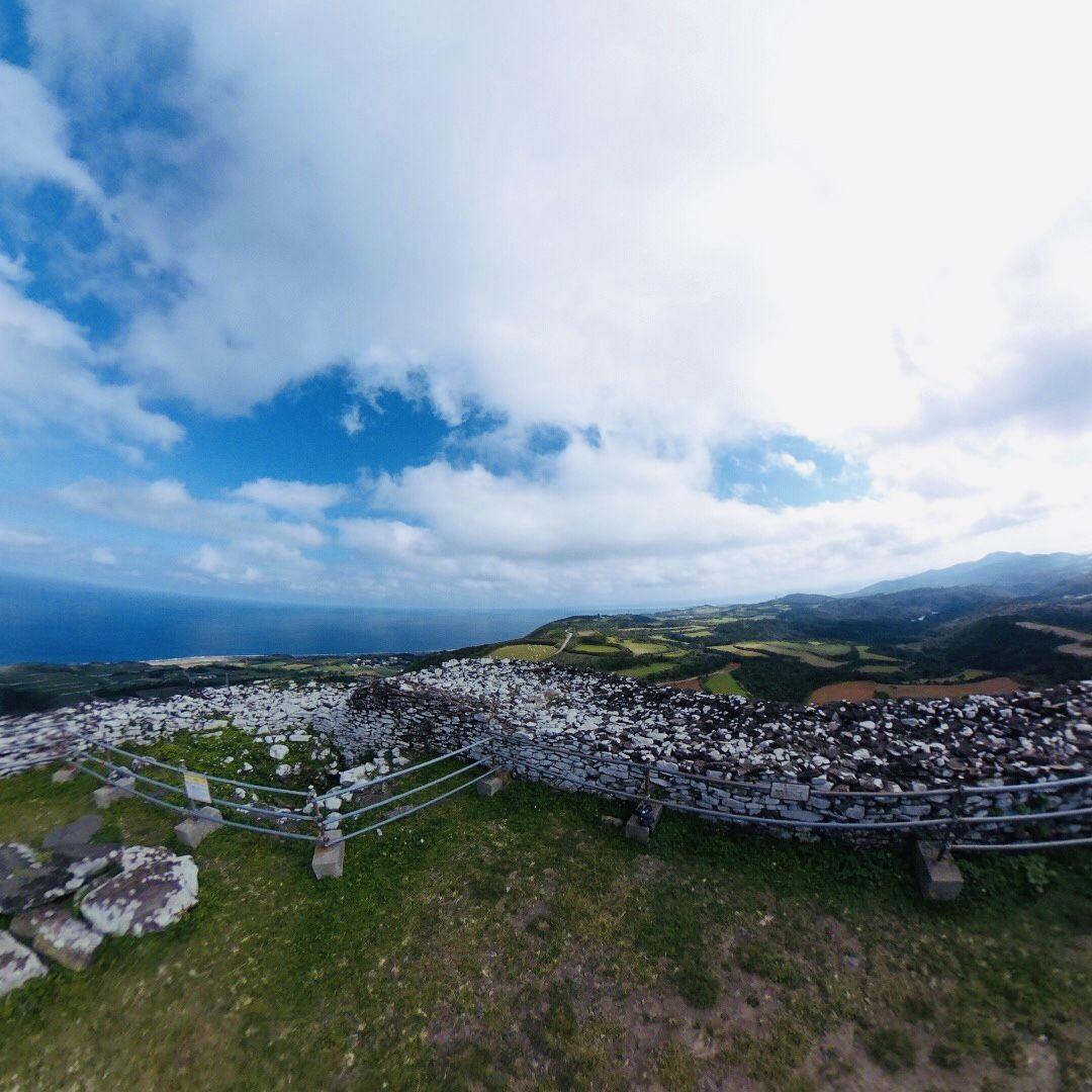 久米島のマチュピチュだ!宇江城城跡の絶景大パノラマがスゴイ