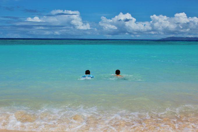 波照間ブルーのニシ浜へ飛び込め!