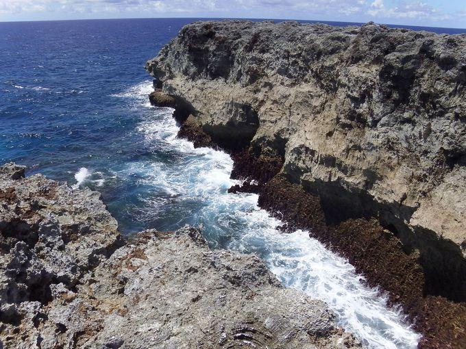 波照間島の最南端「高那埼」