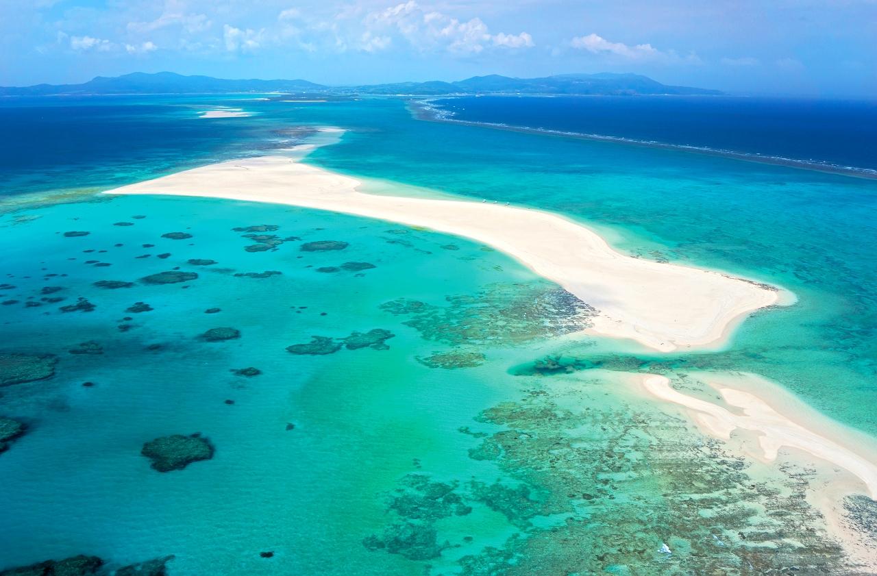 久米島=美しい海
