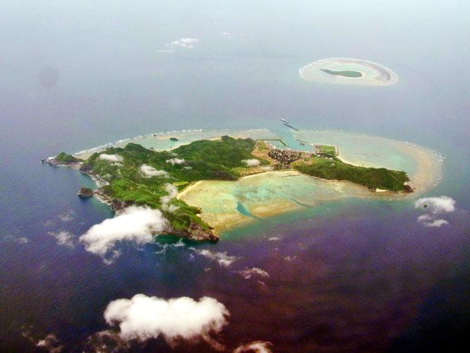 小さな離島、渡名喜島でお土産を手に入れよう
