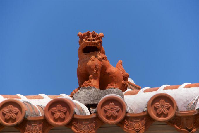沖縄県のシンボル的存在のシーサー