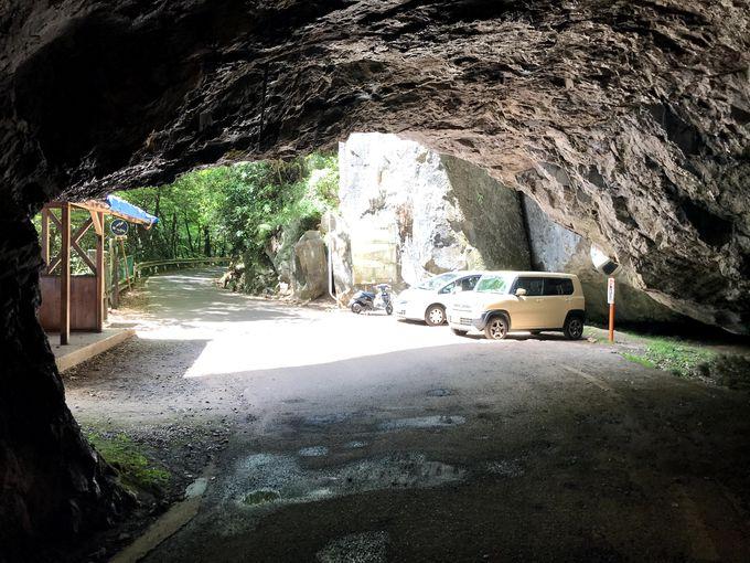羽山第二隧道・南側からのアクセス