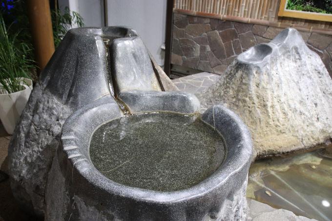足湯へのアクセスなど