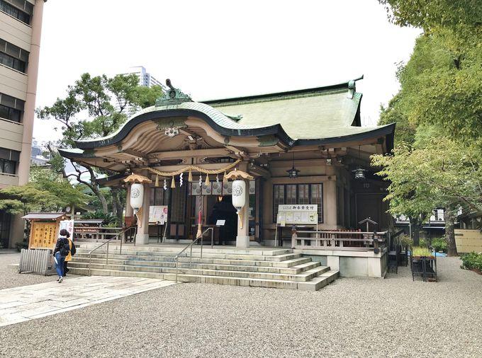 謎の住所にあるのは坐摩神社(いかすりじんじゃ)