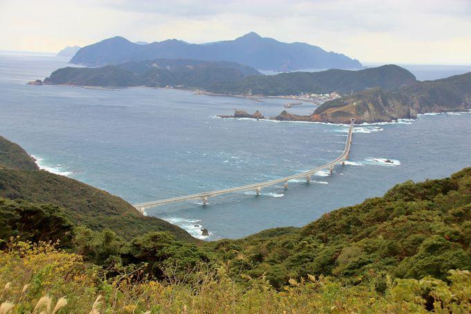 甑大橋開通にわく甑島列島、下甑島