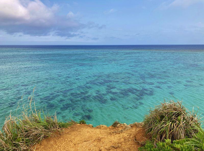 映える!沖縄「ザネー浜」は穴場の絶景ビーチ!