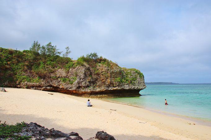 ビーチも絶景のザネー浜