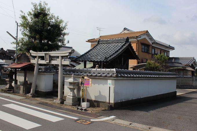 嵐ファンがやってくる「松本神社」は京都府下最小の神社