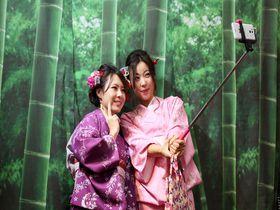京都「あかひめ」簡単着物自撮りプランで手軽にインスタ映え写真を!