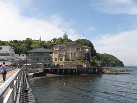 富士山と海のパノラマビュー・江ノ島の天然温泉えのすぱで癒される