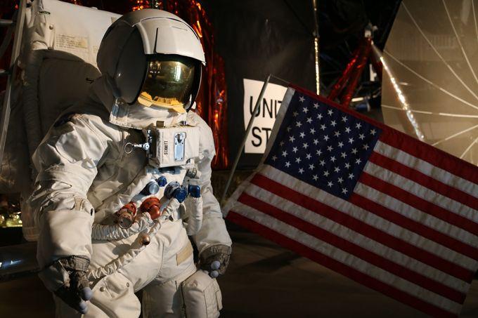 実際に宇宙へ行った宇宙船も展示!国内唯一のNASA特別協力の宇宙科学博物館!