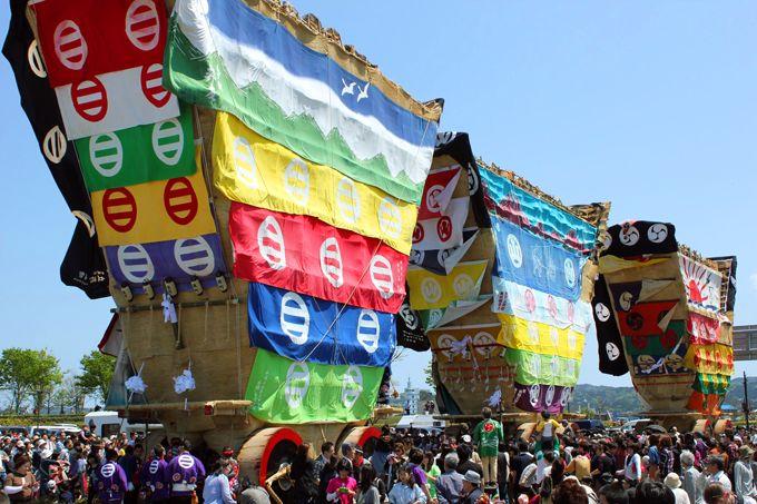 圧倒的な大きさの「でか山」日本最大の曳山祭!能登七尾 〜青柏祭〜