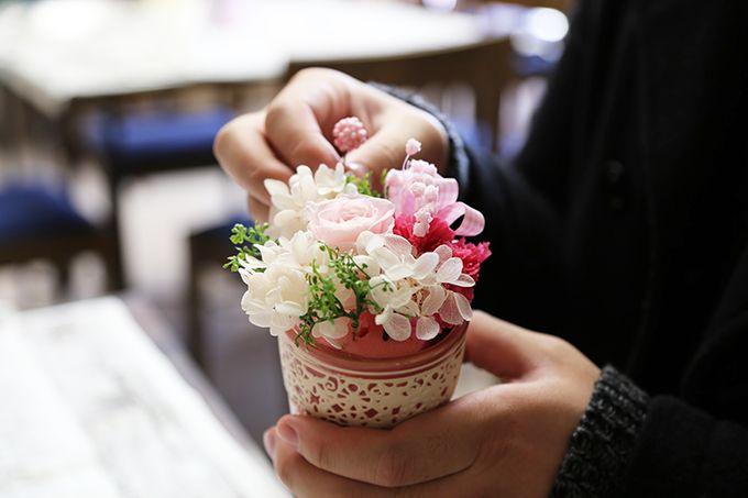 花を使ったクラフト体験!花のミュージアムならではのお土産を作りませんか?