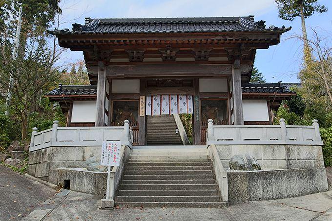 10世紀の中頃に創建された真言宗のお寺「和住山 平等寺」。