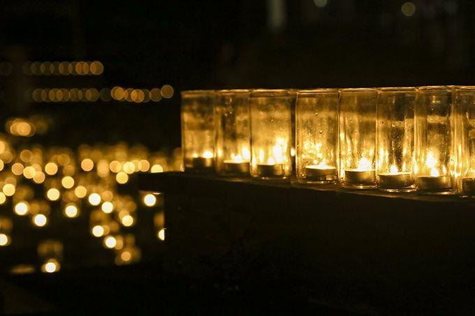 能登の里山を照らす3万個の灯火の幻想的空間!〜金蔵万燈会〜