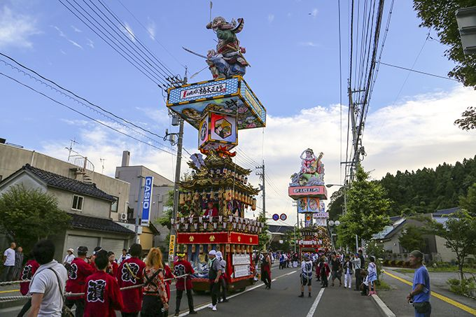 長い歴史をもつ飯田町燈籠山祭り。平成8年に珠洲市無形民俗文化財に指定!