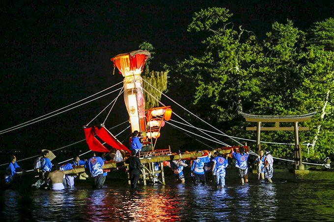 キリコの海中乱舞は助三郎と鍋乃の愛の慰め!勇壮な舞は必見!
