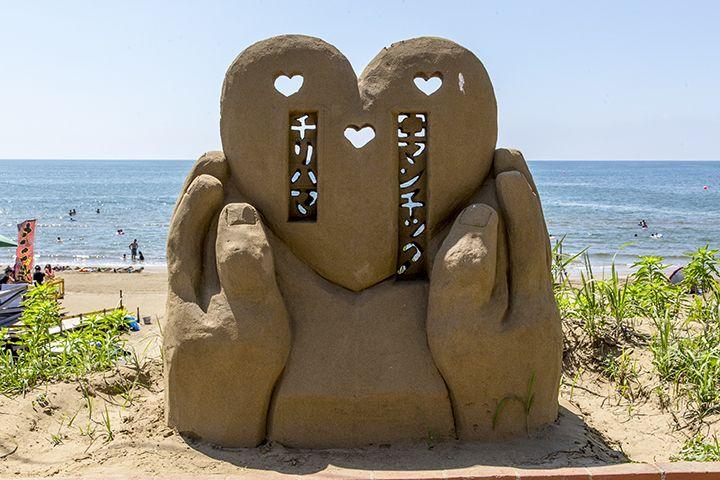 砂のアート「千里浜砂像」!ユニークで芸術的な砂像に注目♪