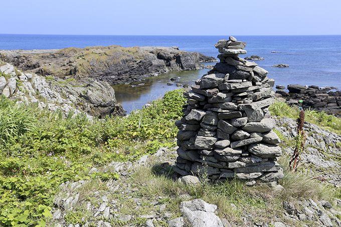 「島の宝100景」に選定された「ケルン」は見所♪