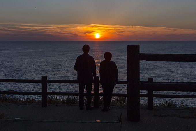 美しい夕陽スポットが数多く点在する志賀町♪