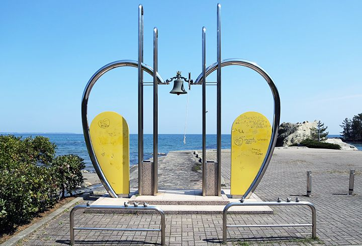 「えんむすびーち」で結ばれた能登のロマンチックスポット!見附島と恋路海岸