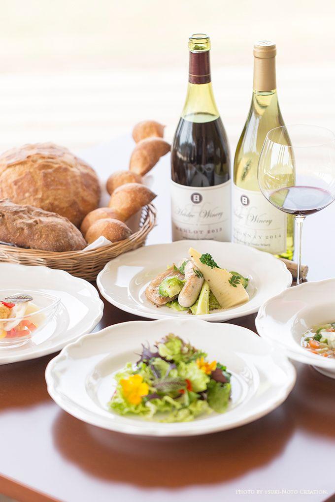 能登から生まれたワインと食材を味わえるフランス料理♪