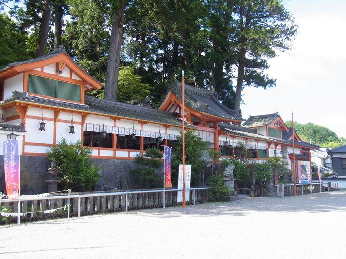 けしからぬおいしさの波動水湧く墨坂神社