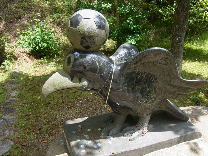 ワールドカップにゆかりある元祖・八咫烏神社