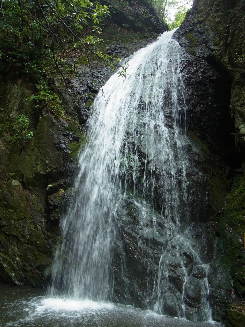街裏の秘境 隠れ滝あり、古刹ありの宝塚・最明寺川