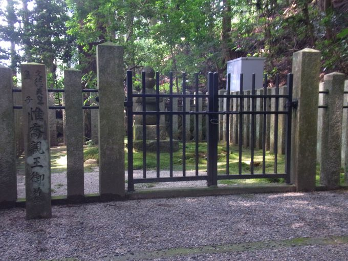 木地師たちの祖となった不遇の皇子・惟喬親王の墓