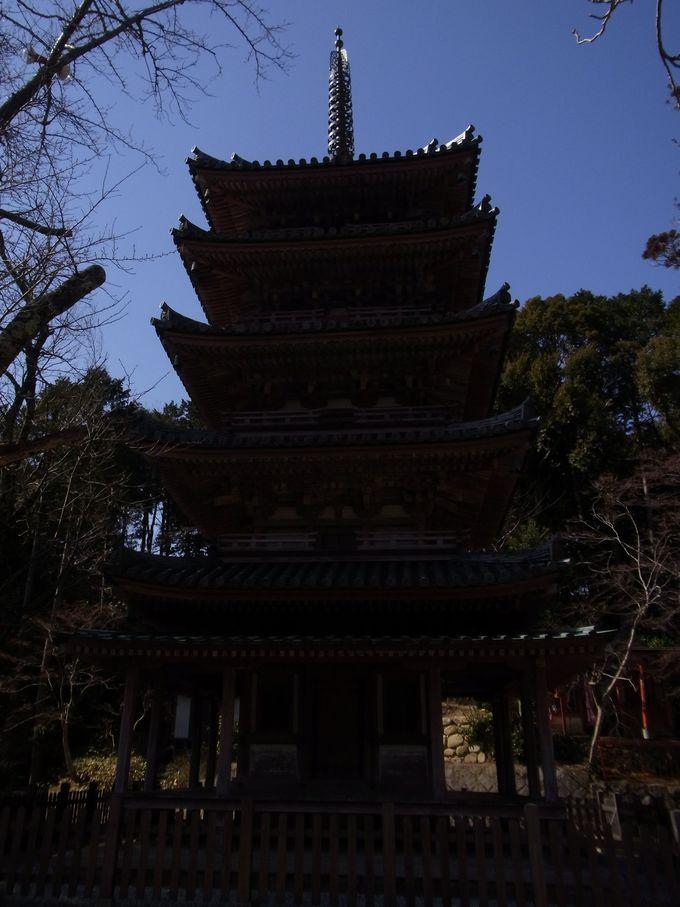 十一面観音と国宝五重塔で有名な海住山寺