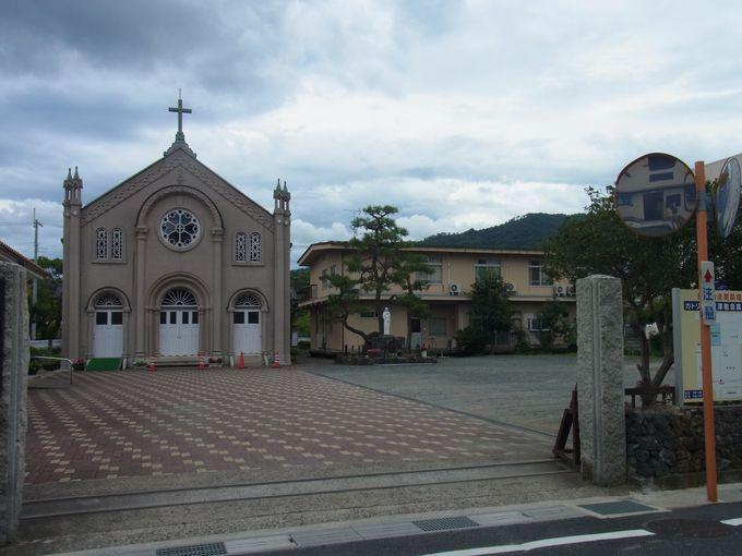 現役の木造教会としてわが国最古のカトリック宮津教会