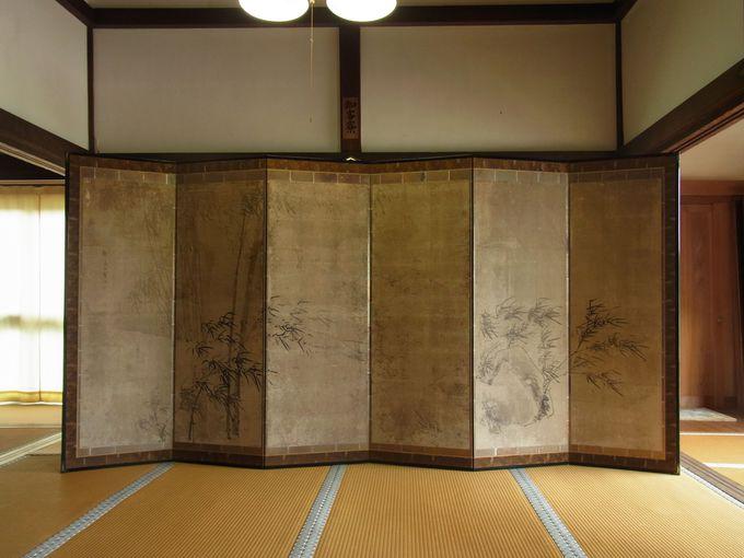 蕪村の屏風絵を伝える宮津市須津の江西寺